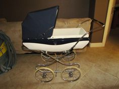 Vintage 1940s English Pedigree Pram Stroller by RCEnterprises, $3995.00
