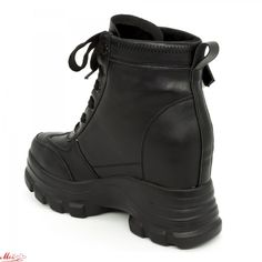 Ghete cu Platforma Dama QQ11 Black (000) Mei Search, Boots, Fashion, Crotch Boots, Moda, Fashion Styles, Searching, Shoe Boot, Fashion Illustrations