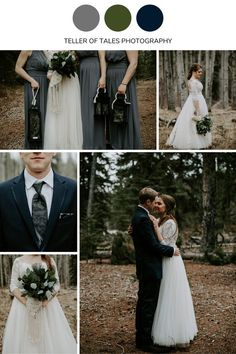 This earthy forest wedding in Jasper, Alberta was filled with deep earth tones. Dark grey, olive green, and dark navy blue created the perfect forest mood for this wedding. Wedding Color Schemes, Wedding Colors, Dark Navy, Navy Blue, Jasper Alberta, Lake Resort, Forest Wedding, Earth Tones, Earthy