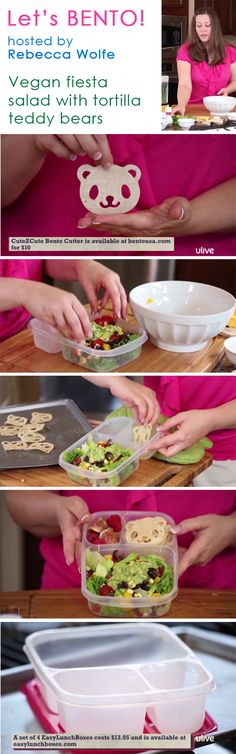 BENTO show on ULIVE shows how easy and fun it is to make bento lunches. 12 episodes so far! http://www.ulive.com/video/bento-fantastic-fiesta
