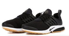 Nike Womens Air Presto Running Shoes 8 BM US BlackWhiteGum YellowBlack -- Details can be found by clicking on the image-affiliate link.