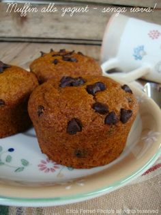 Muffin allo yogurt - Senza uova!