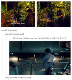 Rory Williams. How graceful. Must click through to see GIF, you will be happy you did.