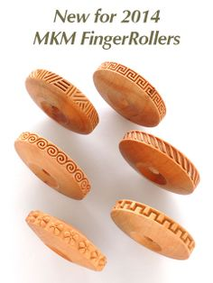 New MKM 8 mm Finger Rollers - Excellent Texture tools!