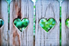 Adorbs -- cut a few hearts into a picket fence?