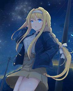'Sword Art Online - Alice' Poster by Online Anime, Online Art, Anime Illustration, Sword Art Online Wallpaper, Alice, Accel World, Card Captor, Anime Angel, Female Anime