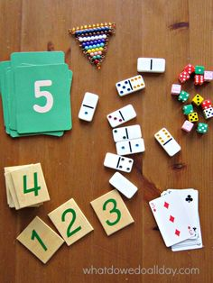 Math is fun! Number and quantity practice game for kindergarteners and preschoolers.