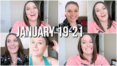 Get Ready With Me. New YouTube Rules. He's Terrible With Time! | Jan 19-21