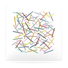 KESS InHouse Sprinkles by Project M Graphic Art Plaque #kess #kessinhouse #artforthehome #print  #multi #color