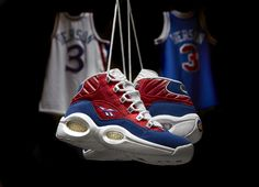 Reebok Classic  Banner Question  Allen Iverson Sneakers 4a67a026ebb0