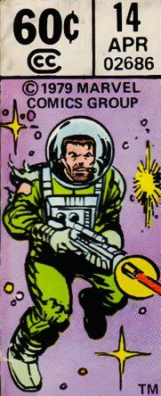 Corner box art - What if... Sgt. Fury and his Howling Commandos had fought World War II in outer-space?