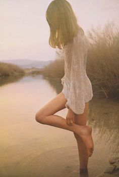David Hamilton's Tranquil 1970s Photographs of a Young Women