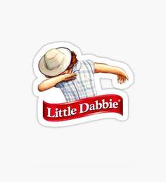 little dabbie Sticker