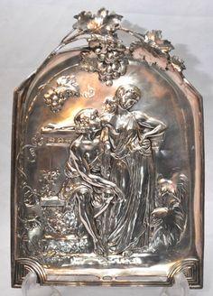 WMF - Excepcional e grande placa de coleção - genuiname..