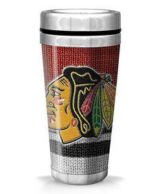 Look what I found on #zulily! Chicago Blackhawks Full-Wrap Woolie Travel Mug #zulilyfinds