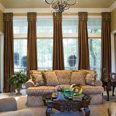 window treatments living room   Ceiling Design Living Room on Living Room Window Treatments Design ...
