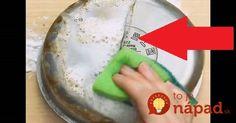 Saponát a chémiu z obchodu ani neberte do ruky: Zmiešajte dve prísady a 20 rokov staré hrnce sú úplne ako nové! Plastic Cutting Board, Fruit, Kitchen, Desserts, Cuisine, Tailgate Desserts, Deserts, Kitchens, Dessert