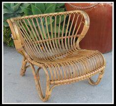 1940s bentwood rattan chair | Nissen & Co. Copenhagen Denmark