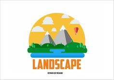 Landscape vector graphics on Corel draw by Rizwan Asif Meghani
