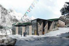 centre d'escalade au népal