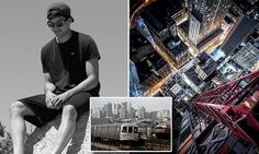 Death-defying photographer dies while trying to surf a NYC subway car