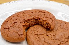 """This """"Fat Archies"""" Molasses Cookies recipe is an old school cookie recipe from a very old Canadian recipe book that was given to me. No Bake Treats, No Bake Desserts, Dessert Recipes, School Cookies Recipe, Cookie Recipes, Gourmet Mac And Cheese, Lemon Cookies, Sugar Cookies, Good Food"""