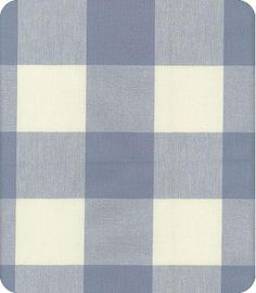 Checkmate Blue Check Fabric