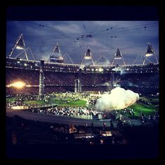 adobson912's photo  of Olympic Stadium on Instagram