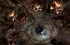 Alice: Madness Returns - Concept Art - Fall to Wonderland