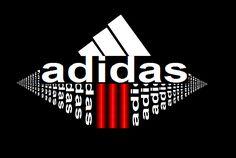 Adidas, cool, swag, logo. Daddys Girl Tattoo, Shirt Logo Design, Shirt Designs, Fashion Mark, Adidas Design, Text Style, Personalized T Shirts, Boys T Shirts, Custom T