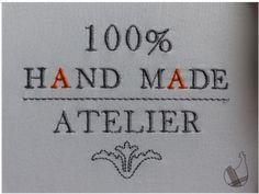 Je vous propose aujourd'hui ce motif spécial atelier. link Fil Gunold Poly 40 - Le fil de vos idées Bon lundi & bonne broderie Free Machine Embroidery Designs, Embroidery Patterns, Cut Work, Couture, Free Design, Needlework, The 100, Quilts, Handmade