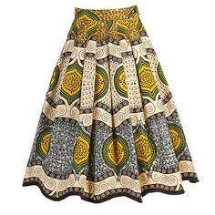Madagascar Skirt lemon vibe - Spring Summer 2015 - Online Store - Lena Hoschek Online Shop