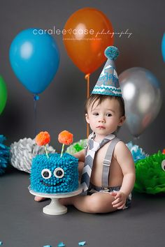 Rigby, ID Baby Child Birthday Photographer ~ Caralee Case Photography