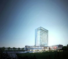 The Korea Teachers Pension Head Office / Tomoon Architects and Engineers,Courtesy of Tomoon Architects and Engineers