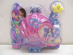BARBIE FAIRYTOPIA MERMAIDIA BUBBLE VANITY SET NEW