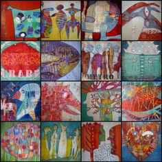 collages 365 art by Elke Trittel
