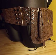 Tribal utility pocket belt PDF sewing pattern by VagabondPatterns, $8.00