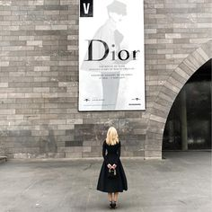 "9,288 Likes, 72 Comments - Megan Hess (@meganhess_official) on Instagram: ""Standing in awe at @ngvmelbourne today with @mercedesbenzau to celebrate the spine tingling DIOR…"""