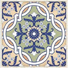 Papel para Decoupage Adesivo Azulejo Vinil VAXV - 07