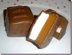 This recipe can be split into two different ones: Homemade Caramel and Homemade Marshmallow. But, when you put them together and cover the...