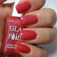 Sold! We Got The Beat - Glam Polish (February 2015 What's indie box) - swatched 2x, $8