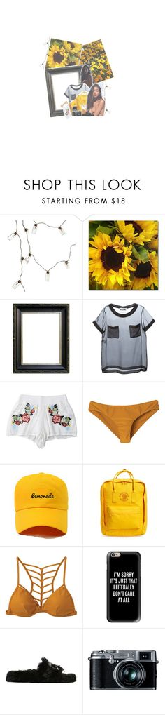 """""""i never came to the beach or stood by the ocean"""" by d-rvgs ❤ liked on Polyvore featuring Klar, Moschino, RVCA, Fjällräven, Casetify, Chiara Ferragni and Retrò"""
