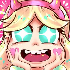Star Butterfly 2 by Maruruu-Chan on DeviantArt. || She reminds me of Gifany from Gravity Falls in this drawing