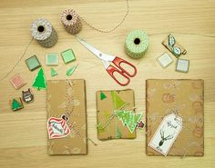 Free Christmas Printable Gift Tag by Katrina Alana