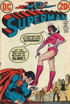 Superman 261 by micky the pixel, via Flickr