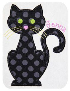 Cat-Applique-Design