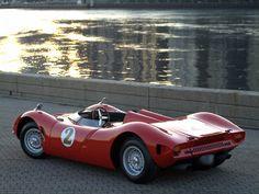 1965-1966 Bizzarrini P538 Barchetta - Scuderia Bizzarrini of Livorno, Italy. The first V8, Corvette 327 powered car debuted ay Le Mans in 1966.