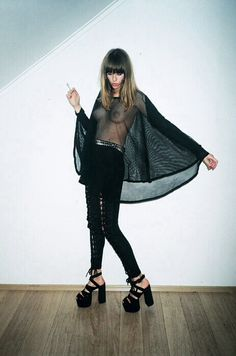 #newdada #dollcult #new #fashion #trend #justkids #young #crazy #wild #extreme #dragtastic #criminal #makeup #punk #girlcult #cult #black #misterwearetheweirdos