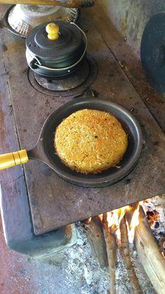 Batata suíça, no fogão a lenha! Simplesmente fantástica!!!