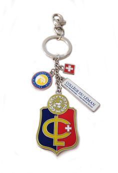 College du Leman branded keyring College, Personalized Items, Gift, University, Colleges